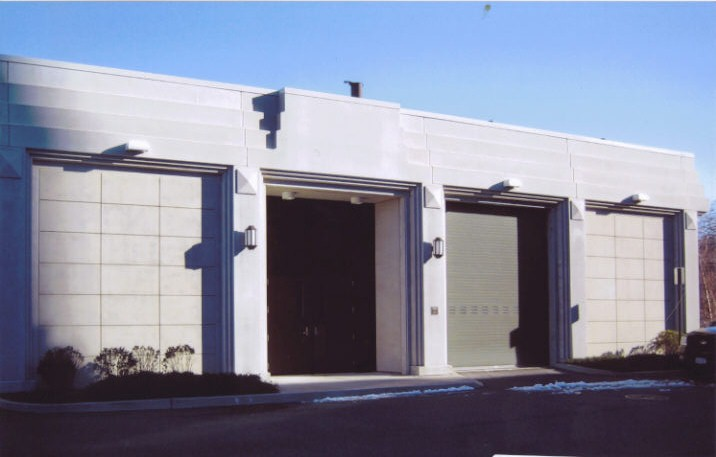 East Elevation - Storage and Maintenance Facility