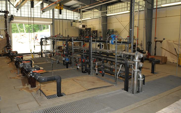 Process Piping - Wastewater Treatment Plant