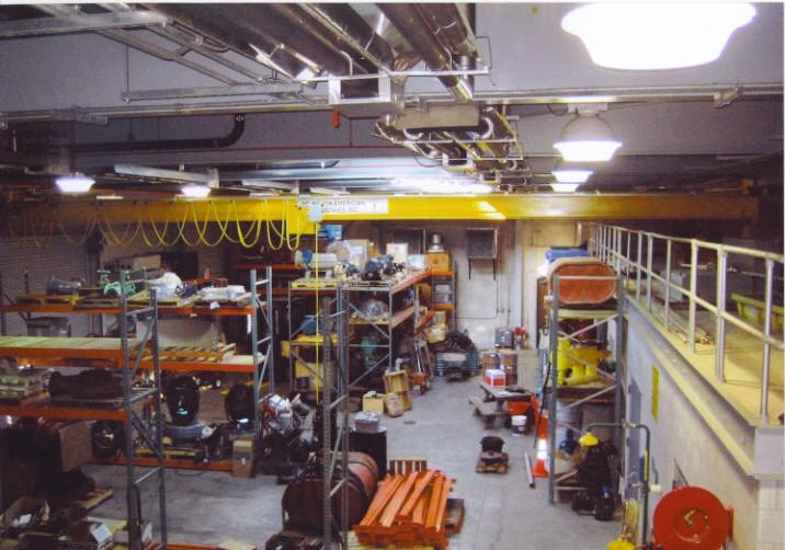 Maintenance Garage - Storage and Maintenance Facility