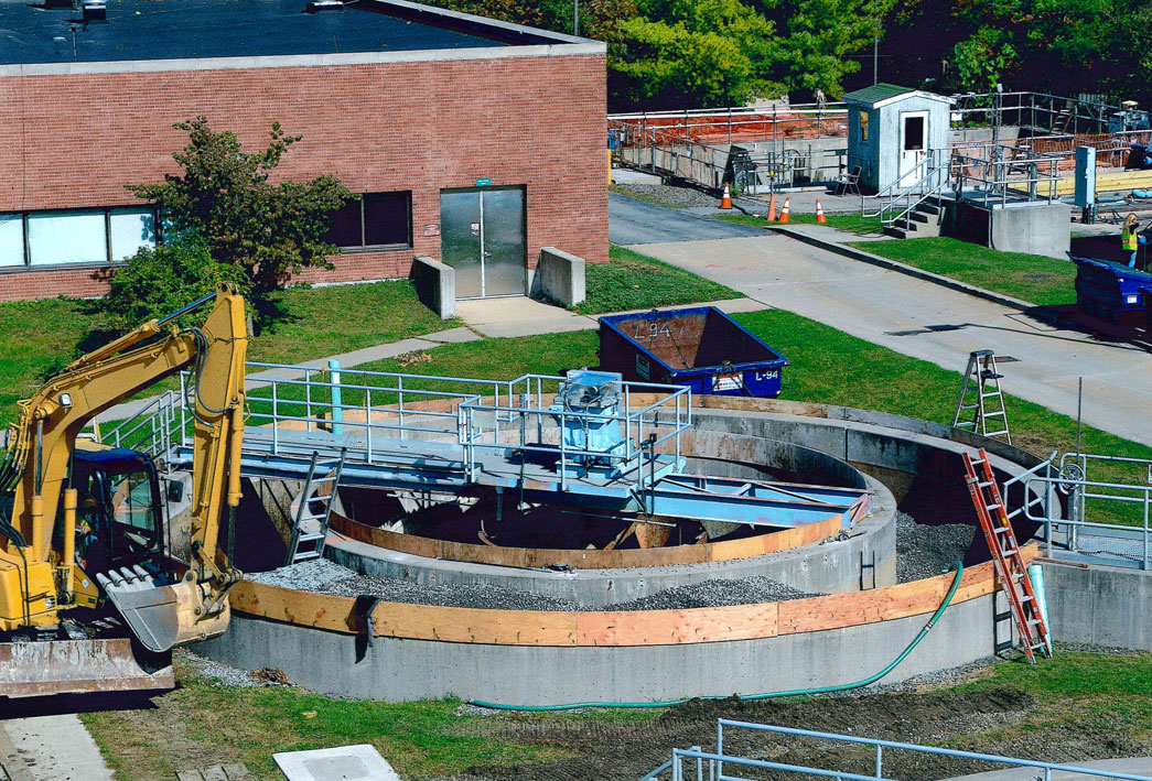Mahopac WWTP Modification to Secondary Clarifier